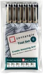 Zentangle tool set 6delig