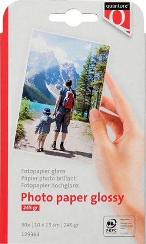 Fotopapier Quantore 10x15cm 245gr glans 50vel