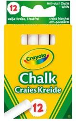Schoolbordkrijt Crayola wit 12 stuks