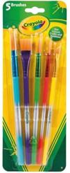 Penseel Crayola 5 stuks