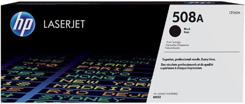 Tonercartridge HP CF360A 508A zwart