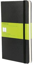 Notitieboek Moleskine blanco large 130x210mm