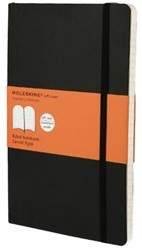 Notitieboek Moleskine lijn large 130x210mm zacht kaft