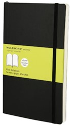 Notitieboek Moleskine blanco large 130x210mm zachte kaft