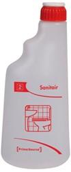 Sproeiflacon PrimeSource rood voor sanitair leeg 600ML