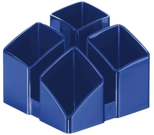 Pennenkoker HAN Scala 4 vaks blauw