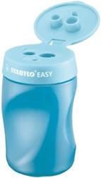 Puntenslijper Stabilo Easy 4502/2 rechtshandiig blauw
