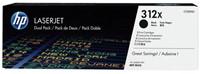 Tonercartridge HP CF380XD 312X zwart 2x HC