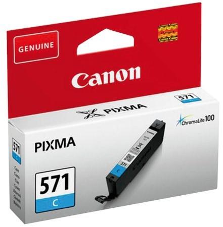 Inktcartridge Canon CLI-571 blauw