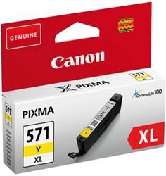 Inkcartridge Canon CLI-571XL HC geel