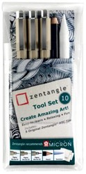 Fineliner Sakura Zentangle tool set 10delig