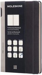 Notitieboek Moleskine large 130x210mm zwart