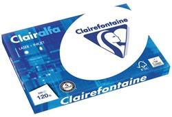 Kopieerpapier Clairefontaine Clairalfa A3 120gr wit 250vel