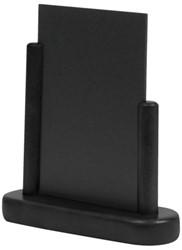 Krijtbord Securit 17x16x5cm zwart hout