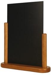 Krijtbord Securit 21x28x7cm teak hout
