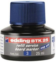 Viltstiftinkt edding BTK25 voor whiteboard blauw