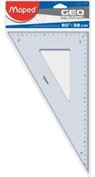 Geodriehoek Maped 60gr 32cm