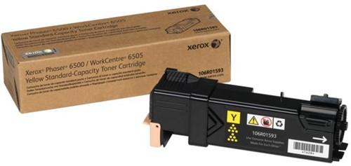 Tonercartridge Xerox 106R01593 geel