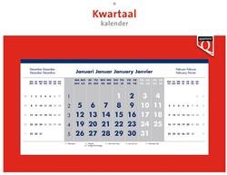Kwartaalkalender 2019 Quantore