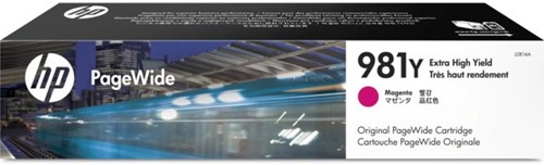 Inktcartridge HP L0R14A 981Y rood EHC
