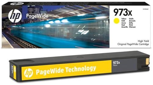 Inktcartridge HP F6T83AE 973X geel
