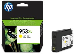 Inkcartridge HP 953XL F6U18AE HC geel