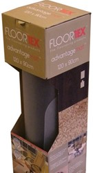 Stoelmat Floortex PVC 120x90cm voor harde vloeren retailpak