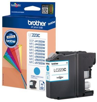 Inkcartridge Brother LC-223C blauw
