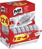 Correctieroller Pritt navulbaar Flex 4.2mm 12+4 gratis-1