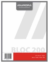 Kladblok 210x270mm 200vel blanco