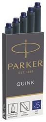 Inktpatroon Parker Quink permanent blauw