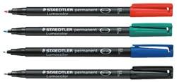 Viltstift Staedtler OHP Lumocolor F318 zwart fijn