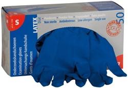 Handschoen huishoud high risk blauw smal