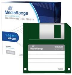 "Diskette Mediarange 3,5"" DSDD 1.44MB"
