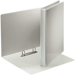 Presentatieringband Esselte A4 2-rings D-mech 20mm wit