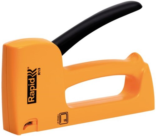 Nietpistool Rapid 13E 13/4-10 ABS geel blister