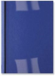 Thermische omslag GBC A4 1.5mm lederlook donkerblauw 100st