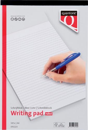 Schrijfblok Quantore Basic A4 gelinieerd