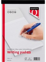 Schrijfblok Quantore Basic A4 gelinieerd-5