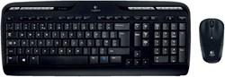 Toetsenbord Logitech MK330 Azerty +muis zwart