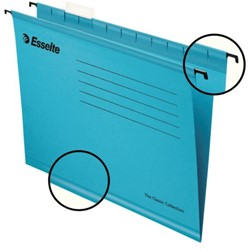 Hangmap Esselte Classic A4 V-bodem blauw