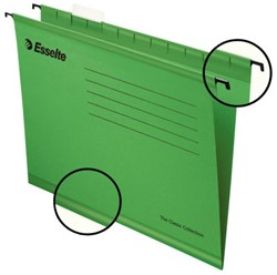 Hangmap Esselte Classic folio V-bodem groen