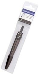Passer Kangaro K-3319 metaal zwart in etui Ø13cm