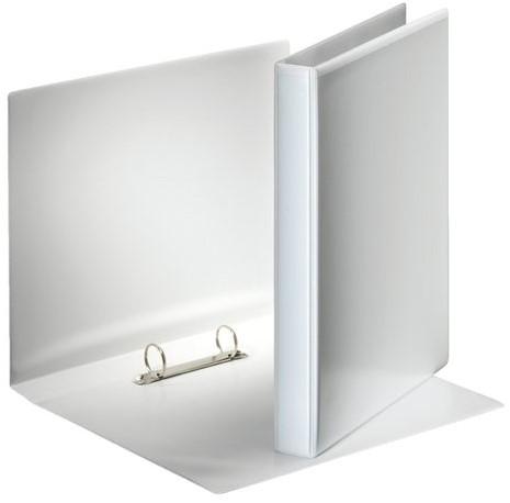 Presentatieringband Esselte A4 2-rings O- mech 25mm wit