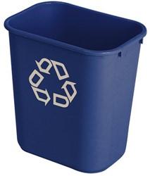 Afvalbak blauw 26liter
