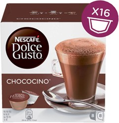 Chocolade Dolce Gusto Chococino 16 cups voor 8 kopjes