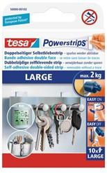 Dubbelzijdige powerstrip Tesa large 2kg