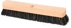 Zaalbezem hout 40cm zwart gat Ø23.5mm