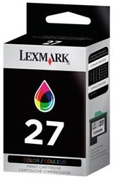 Inkcartridge Lexmark 10NX227E 27 kleur