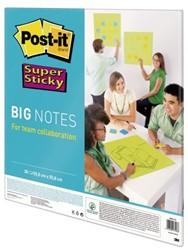 Scrum Big Notes 3M Post-it 55.8x55.8cm neon groen